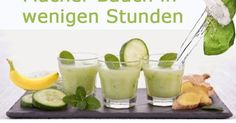 Ein gesunder Smoothie, der bei der Verdauung hilft und entzündungshemmend wirkt. ✌ Zutaten: 1/2 Tasse Kokoswasser 1 Banane 1 große Gur...