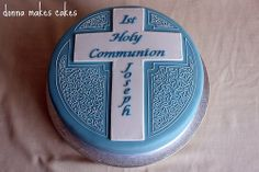 Holy Communion Cake by donna_makes_cakes, via Flickr