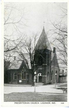 Ligonier Indiana Presbyterian church: I attended this church when I was a teenager.