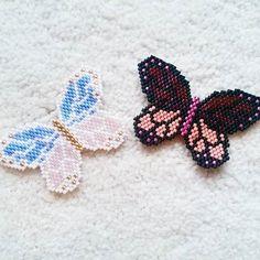 Brick Stitch Butterfly