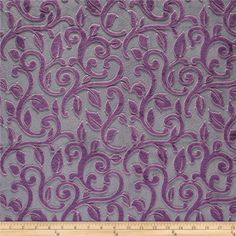 Mar Bella Minky Cuddle Granada Violetta from @fabricdotcom  This ultra soft and cuddly fabric has a smooth minky surface with flourish embossing. Pile measures 5mm. Fabric is perfect for making ultimate minky blanket, throws, cuddly toys, lounge wear, quilt backing much more! Colors include violet and cool grey.