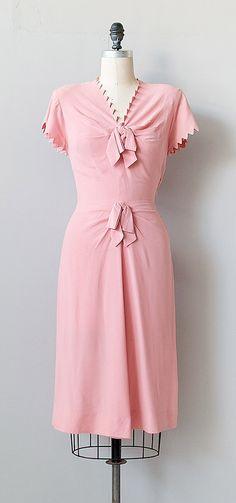 madylone petals | vintage 1940s dress