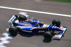 Jacques Villeneuve (CAN) (Rothmans Williams Renault), Williams FW19 - Renault RS9 3.0 V10 (RET)  1997 San Marino Grand Prix, Autodromo Enzo e Dino Ferrari