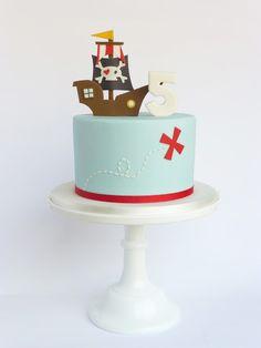 Peaceofcake ♥ Sweet Design: Pirate Cake • Bolo Pirata