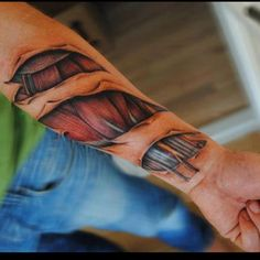 This is a serious tattoo! Love the artwork