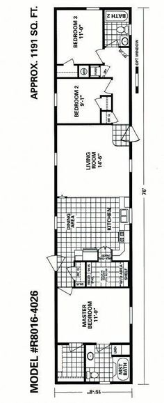 25 best single wide homes images house floor plans mobile homes rh pinterest com