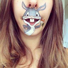 Cool Lip Makeup   cool-lip-makeup-characters-Bugs-Bunny