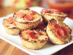 Mini Cauliflower Pizza Bites