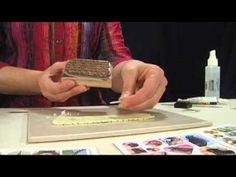 Stamping and Transferring onto Polymer Clay with Nunn Design ~ Polymer Clay Tutorials