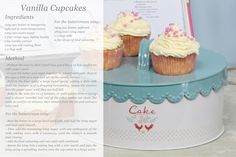 Bake off with Gisela Graham #Cupcake #recipe #GreatBritishBakeOff