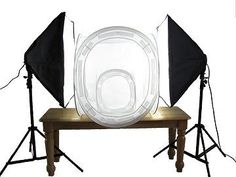 """12"""" & 24"""" #Photography Light Tent with Lights"""