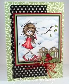 Jeni's Ladybug- new image by Sassy Cheryl digital stamps