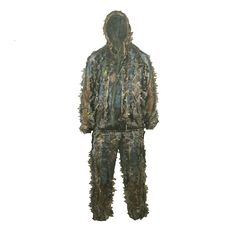 Military Camouflage Ghillie Suit Hunting Clothing Camouflage Shade Cloth TACTICAL GHILLIE Suit Camouflage Hunting Shade Cloth #Affiliate