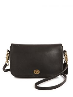 Coach Leather Crossbody | NiftyThrifty - Rare Finds Everyday