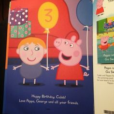 Peppa Pig Party Book from Penwizard