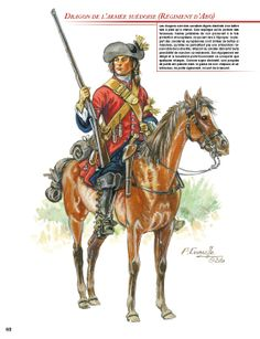 Swedish; Dragoon Great Northern War
