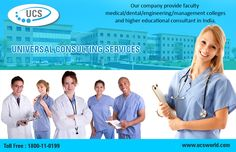 #UniversalConsultingServices is a pioneer #educational company providing #faculty medical #dental engineering #management #colleges and higher educational #consultant in #India. See more @ http://ucsworld.com/services/  #UCSWorld #EducationalConsultancy