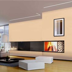 Reveal Wall Wash Plaster-In LED System 7.5W 24VDC by Pure Lighting | RVWW-7WDC-1FT-24K-SA