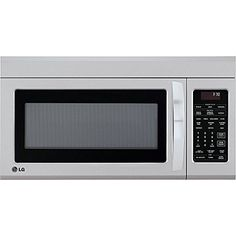 Lg Over The Range Microwave Oven Stainless Steel Silver Cu Ss