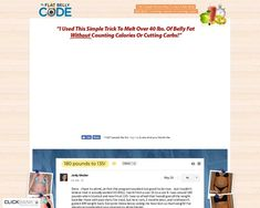 The Flat Belly Code - The Easiest Way To Get A Flat Belly At Any Age – Fitness & Healthy