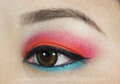 BeautyRedefined by Pang: Urban Decay Electric Palette Makeup Look #2