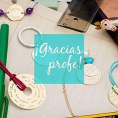 """Instagram @trioletspain: """"Regalos para #profe cada niño puede escribir su nombre y hacer un regalo único para ellos: #llavero, #gemelos... #girl #love #summer #shop #moda #fashion #niños #kids #teens #madres #mums #madeinspain #picoftheday #ss16 #kidsfashion #cute #bonito #cool #children #lagasca58 #triolet #trioletspain foto con #huaweip8 #newcollection #profesor""""."""