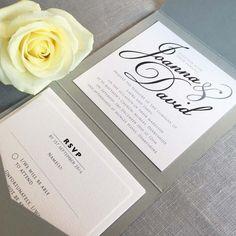 Joanna Pocketfold Invitation
