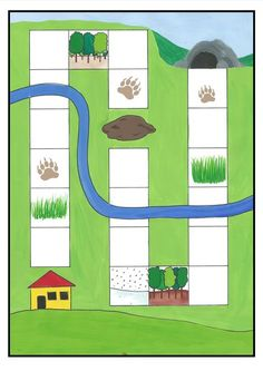 The first is a retell board, instructions in the PDF. The second is a simple board game. Preschool Board Games, Preschool Colors, Phonics Activities, Camping Activities, Educational Activities, Book Activities, Maths Eyfs, Bear Theme, Math Books