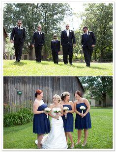 Muhlhauser Barn Wedding by Mandy Paige Photography on BorrowedandBleu.com