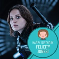 """115.1k Likes, 619 Comments - Star Wars (@starwars) on Instagram: """"We have hope... that Felicity Jones has a fantastic birthday! #RogueOne #StarWars #JynErso #Stardust"""""""