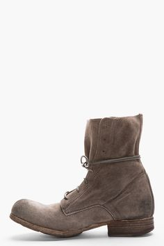 officine creative distressed suede boots
