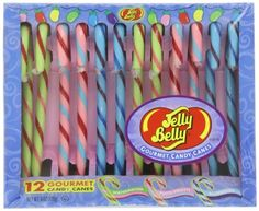 Spangler Candy Canes, Jelly Belly, (Pack of Jelly Belly Beans, Jelly Beans, Christmas Candy, Christmas Stuff, Gourmet Candy, Bff Birthday Gift, Candy Shop, Nerd Geek, Deco