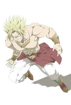Broly: Actual Anime Version by BrolyManiac on DeviantArt