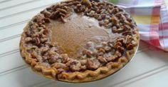 What's Better Than Pumpkin Pie? Praline Crusted Pumpkin Pie!