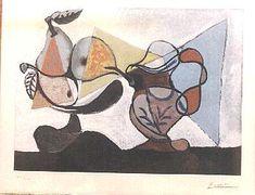 Still life, school of Paris - Pablo Picasso  1936