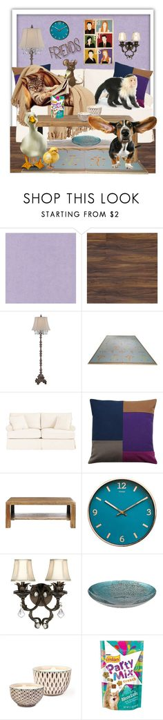 """Friends Contest"" by hubunch ❤ liked on Polyvore featuring interior, interiors, interior design, home, home decor, interior decorating, Universal Lighting and Decor, Ballard Designs, Safavieh and Kathy Ireland"