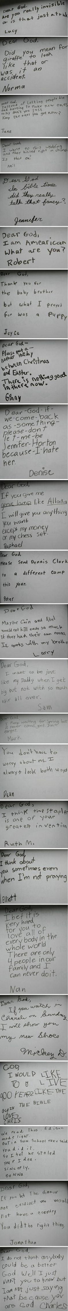 Kids prayers- So precious! Must make my children write down their prayers so we can chuckle at them later