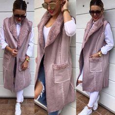 Co povieš na túto vyteplenú vestu ? Podľa mna je fakt jedna z topiek ! Materiálovo aj dizajnovo  veľkosť UNI 4390 IHNEĎ K ODBERU #newcollection#tvojstylfashion#dnesnosim#dnesobliekam#lovemoda#fashionblogger#modastyle#moda