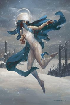 Shelegiel Angel Of Snow By Petemohrbacher D 6 Zno 5 V