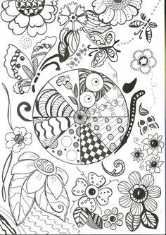 Tangle Doodle, Doodles Zentangles, Zen Doodle, Doodle Art, Doodle Patterns, Zentangle Patterns, Doodle Techniques, Free Doodles, Stencil Designs
