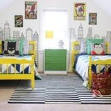 While most come here to see beautifully decorated children's spaces, many of our readers still have a strong desire to make sure that kids' rooms are still, well, for kids. While it's understandable that design-conscious parents want their kids' spaces to be just as stylish the rest of the house, it can be done without removing all of the fun. Here are eight ways to create a stylish kid's room that still shows off your little one's personality: