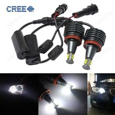 #Canbus bmw 80w cree led marker #angel eyes halo #light h8 head#light bulb drl whi,  View more on the LINK: http://www.zeppy.io/product/gb/2/371624382935/
