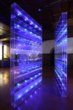 Susanne Rottenbacher. Light art installation. lichtkunst