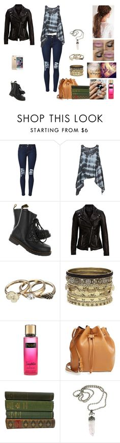 """The Twin Alpha's #22"" by jazmine-bowman on Polyvore featuring Backstage, Dr. Martens, SELECTED, Daytrip and Sole Society"