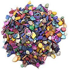 lieomo Bulk Mosaic Tile Assortment, Mixed Color Shells,Home Decoration DIY Arts & Craft (Non-Transparent) Cd Mosaic, Easy Mosaic, Mosaic Tile Art, Mosaic Garden, Record Crafts, Cd Crafts, Tile Crafts, Arts And Crafts, Mosaic Crafts
