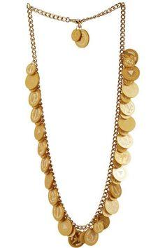 Coins Long Necklace/Belt £450 (sale £225) - SS11 Astral Haze