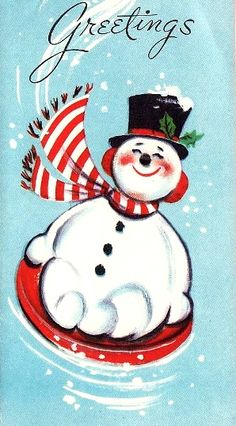 Snowman wishes #holiday