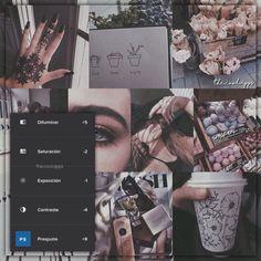 Da un toque muy lindo. Da un tono más café a la… Vsco Photography, Photography Filters, Photography Editing, Foto Filter, Fotografia Vsco, Vsco Effects, Best Vsco Filters, Vsco Themes, Photo Editing Vsco
