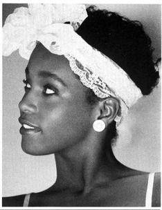 Young Whitney Houston #monochrome
