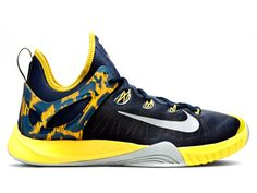 huge discount 73636 f8169 Nike Zoom HyperRev EP Paul George Midnight Navy Tour Yellow (705371-407)